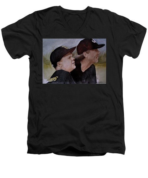 Wes And Dad Men's V-Neck T-Shirt