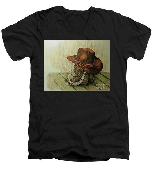 Western Wares Men's V-Neck T-Shirt
