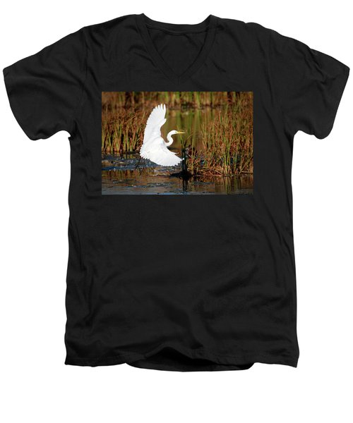 Wetland Landing Men's V-Neck T-Shirt