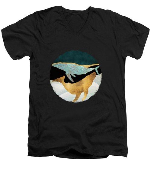 Whale Song Men's V-Neck T-Shirt