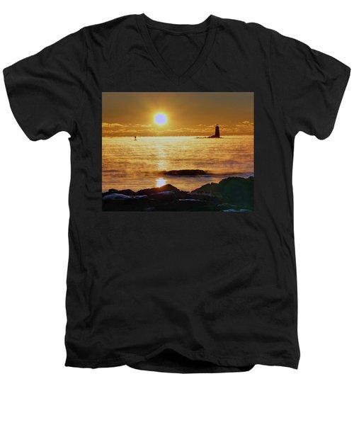 Whaleback Light 264 Men's V-Neck T-Shirt