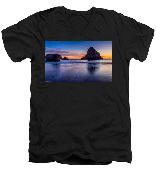 Whaleshead Beach Sunset Men's V-Neck T-Shirt