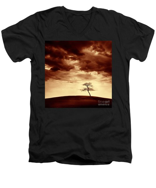What Will Be The Legacy Men's V-Neck T-Shirt