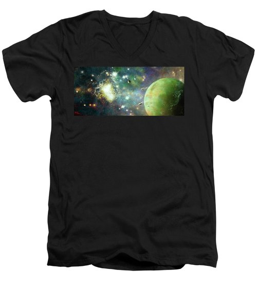 What's Out There Men's V-Neck T-Shirt