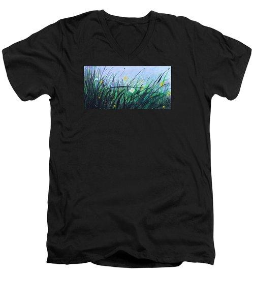When The Rain Is Gone Men's V-Neck T-Shirt by Kume Bryant