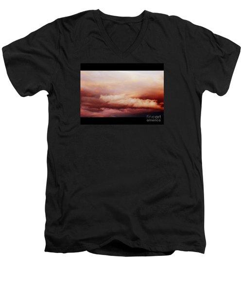 Where Angels Live Men's V-Neck T-Shirt