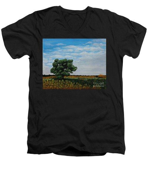 Where The Fields Meet Men's V-Neck T-Shirt