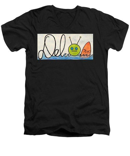 Where The Turf Meets The Surf Men's V-Neck T-Shirt