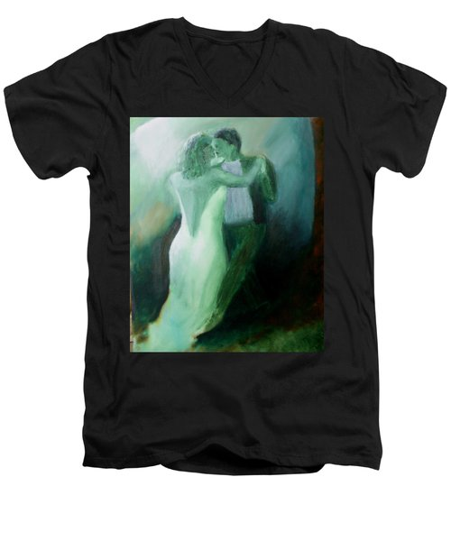 Whispered Passion Men's V-Neck T-Shirt