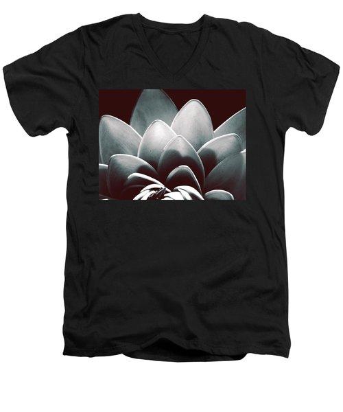 White Lotus At Dawn Men's V-Neck T-Shirt