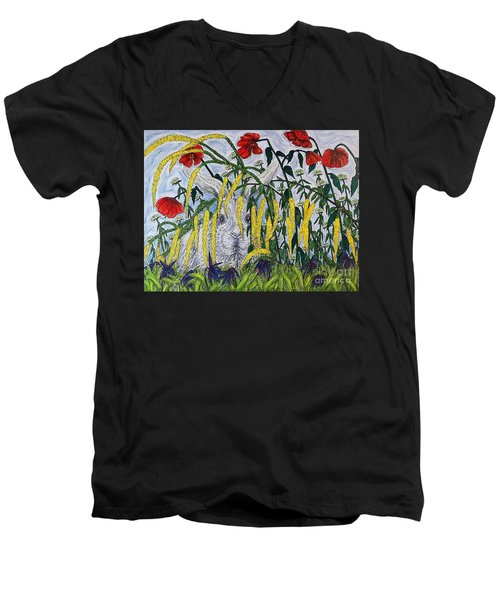 White Rabbit Men's V-Neck T-Shirt
