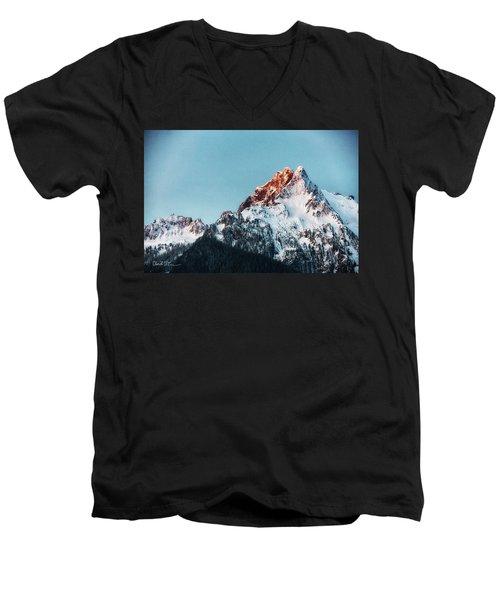 Whitehorse Sunrise Men's V-Neck T-Shirt