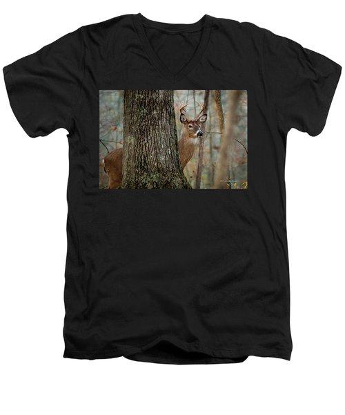 Whitetail #31 Men's V-Neck T-Shirt
