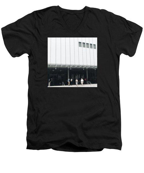 Whitney Museum Of American Art Men's V-Neck T-Shirt