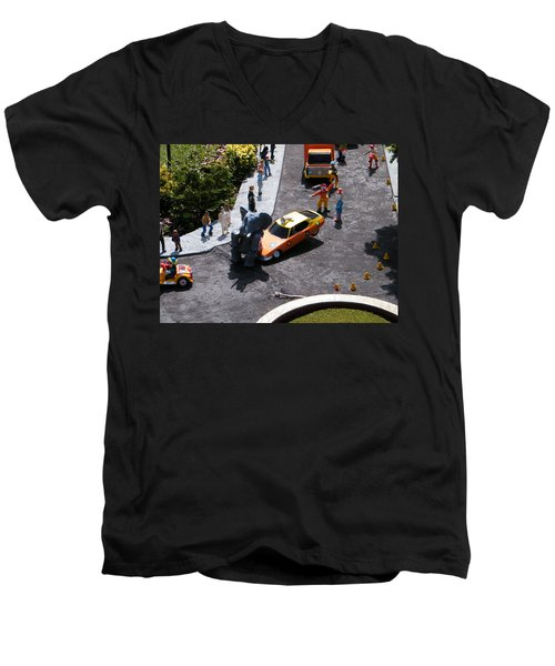 Whoooooops Men's V-Neck T-Shirt