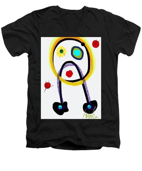 Whoopsie Men's V-Neck T-Shirt