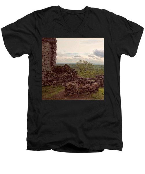 Wieder Einmal Auf Meiner Lieblings- Men's V-Neck T-Shirt by Mandy Tabatt