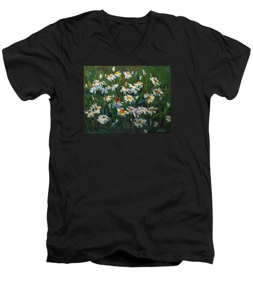 Wild Camomile Men's V-Neck T-Shirt