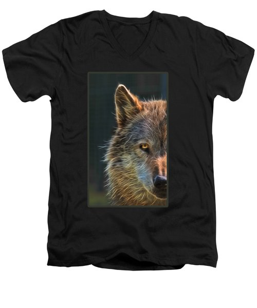 Wild Night Men's V-Neck T-Shirt