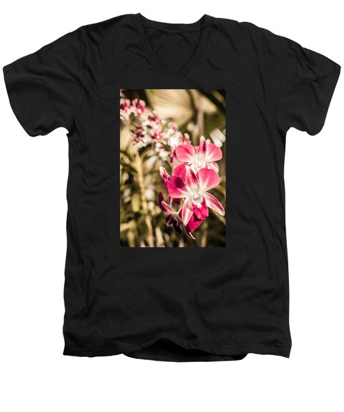 Wild Orchids Men's V-Neck T-Shirt