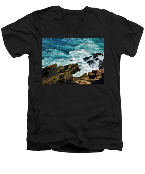 Wild Shore Men's V-Neck T-Shirt
