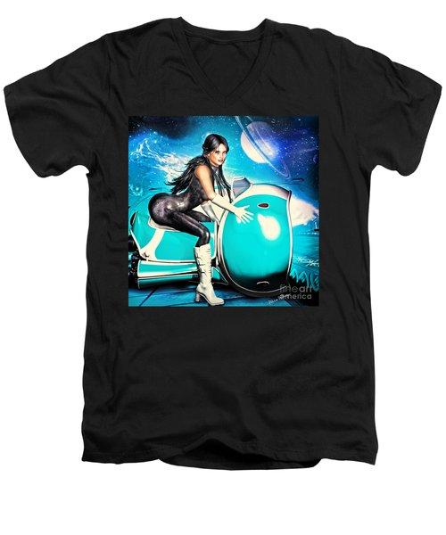 Wild Thing 3052 Men's V-Neck T-Shirt
