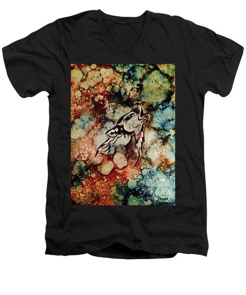 Wilderness Warrior Men's V-Neck T-Shirt