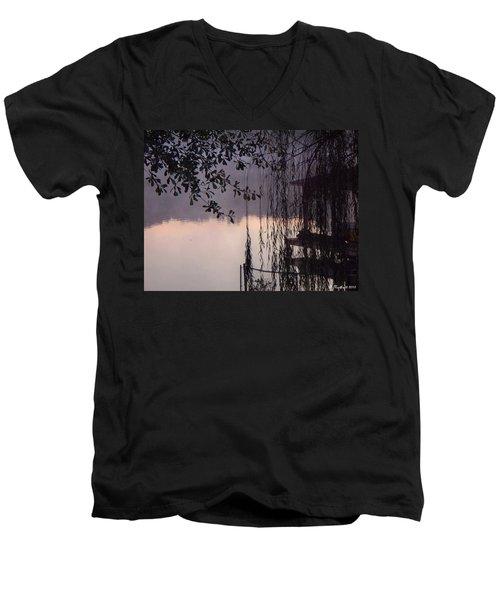 Willow's Dawn Men's V-Neck T-Shirt