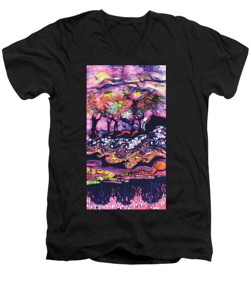 Wind And Waves Men's V-Neck T-Shirt