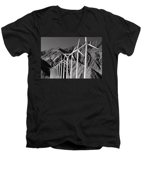 Wind Generators Men's V-Neck T-Shirt