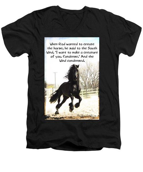 Wind In Your Mist Men's V-Neck T-Shirt