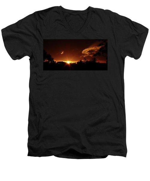 Window In The Sky Men's V-Neck T-Shirt