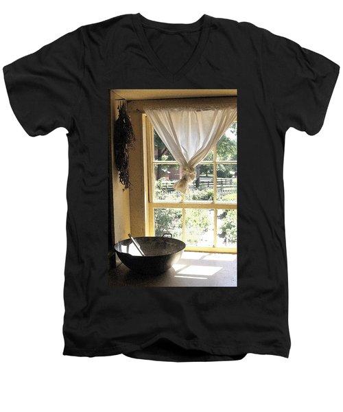 Window On Yesterday Men's V-Neck T-Shirt