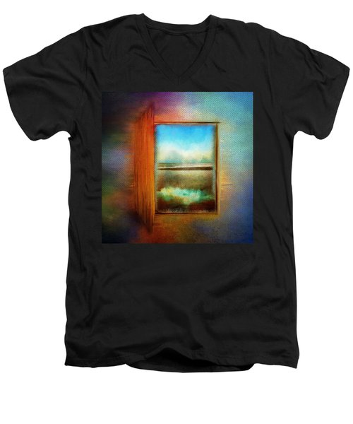 Window To Anywhere Men's V-Neck T-Shirt