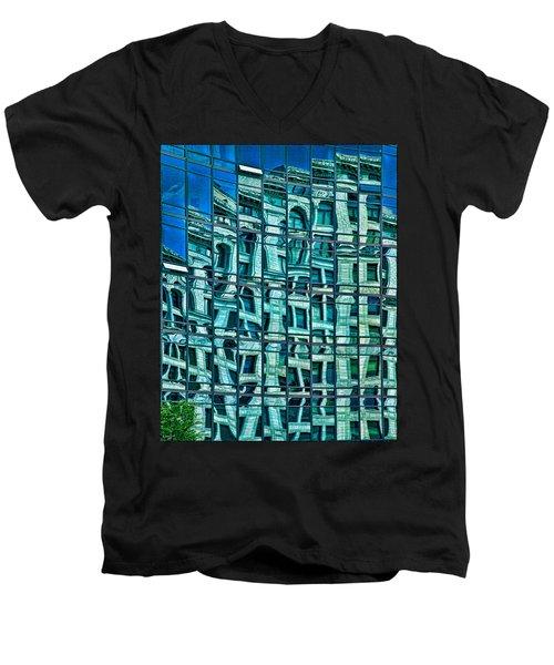 Windows In Windows Men's V-Neck T-Shirt