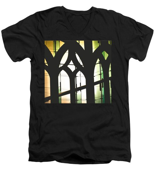 Windows Men's V-Neck T-Shirt by Melissa Godbout