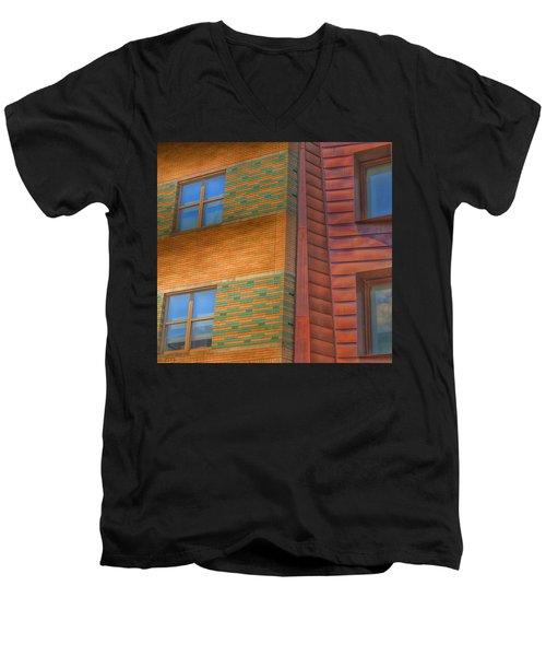 Windowscapes Men's V-Neck T-Shirt