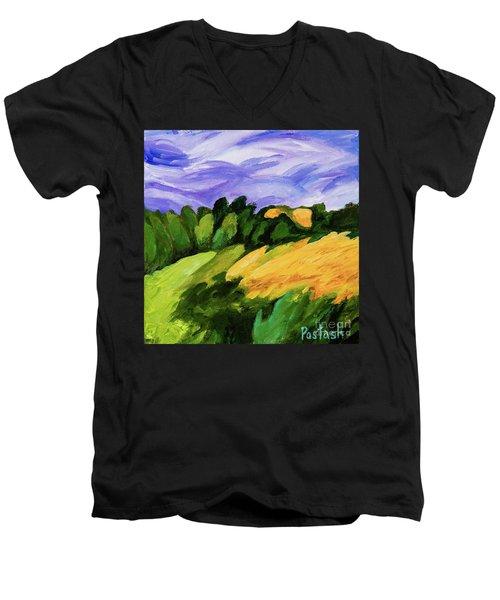 Windy Men's V-Neck T-Shirt by Igor Postash