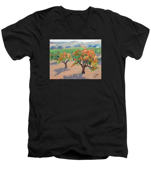 Winery Addiction Men's V-Neck T-Shirt