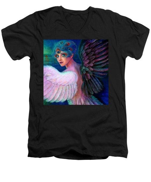 Wings Of Duality Men's V-Neck T-Shirt