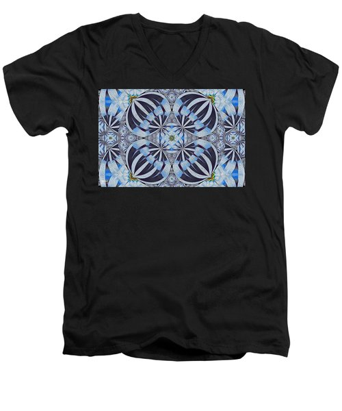 Winter Carnivale Men's V-Neck T-Shirt by Jim Pavelle