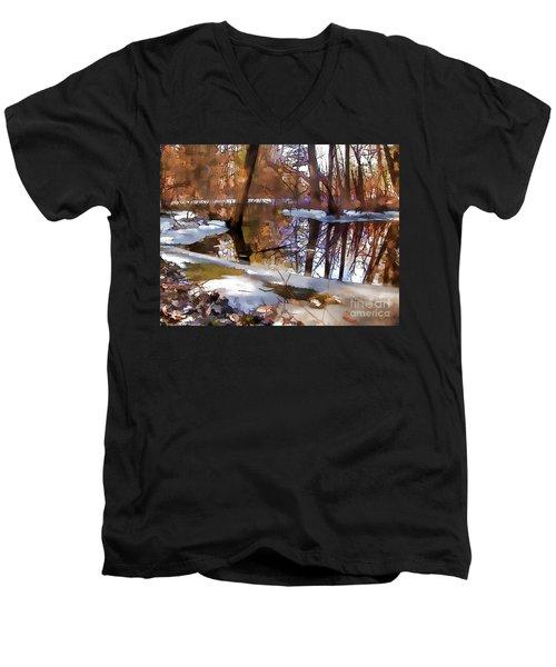 Winter Farewell Men's V-Neck T-Shirt