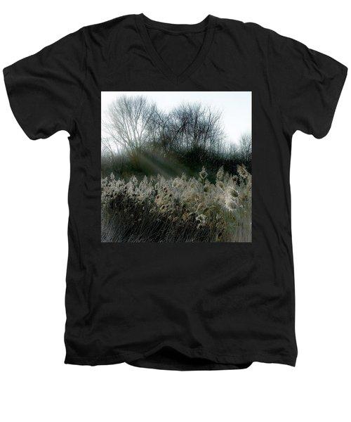 Winter Fringe Men's V-Neck T-Shirt