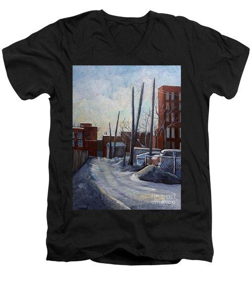 Winter Lane Men's V-Neck T-Shirt