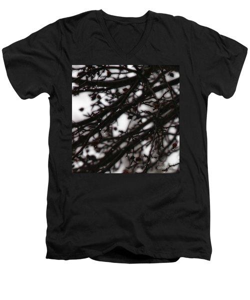 Winter Rain Men's V-Neck T-Shirt