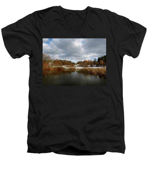 Winter Sky Men's V-Neck T-Shirt