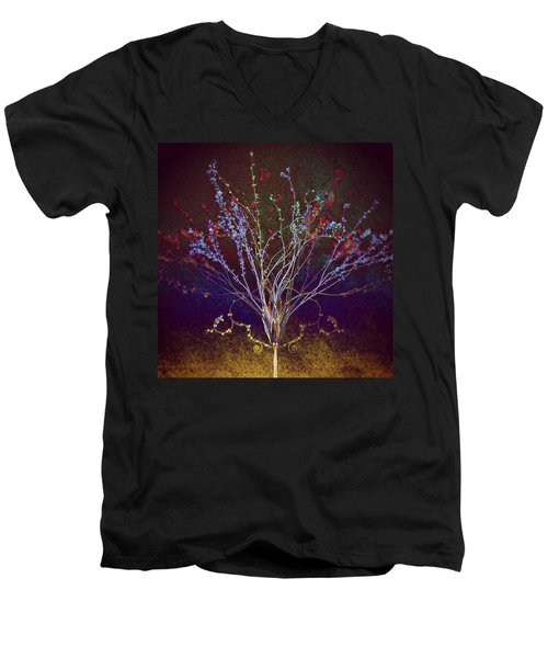 Wisdom Does Not Show Itself Men's V-Neck T-Shirt