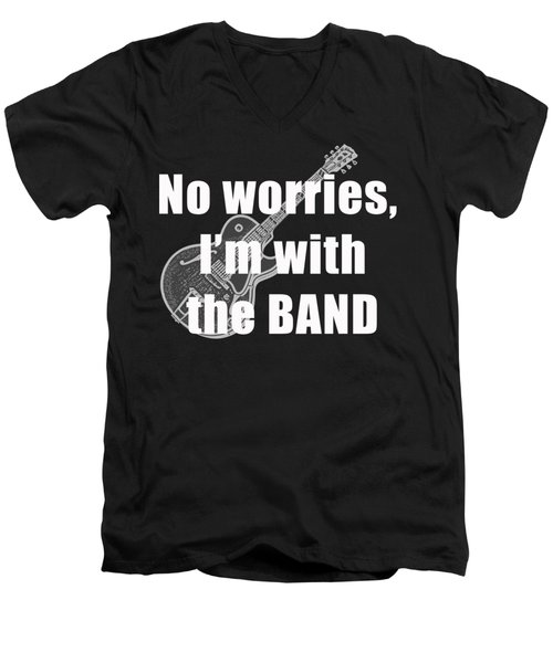 With The Band Tee Men's V-Neck T-Shirt