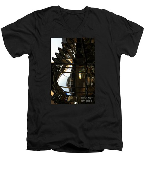 Within The Rings Of Lenses And Prisms - Water Color Men's V-Neck T-Shirt