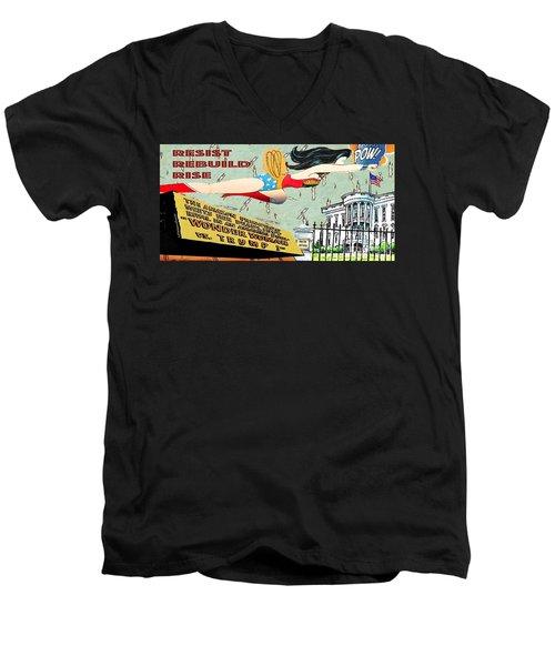 Wonder Women  Men's V-Neck T-Shirt